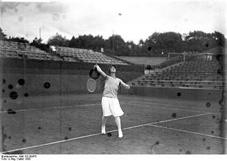 Cilly Aussem - Cilly Aussem in 1930