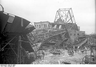 Alsdorf - Bundesarchiv Bild 102-10600, Alsdorf, Grubenunglück