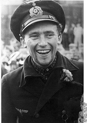 Great Papago Escape - Lieutenant Friedrich Guggenberger in October 1941