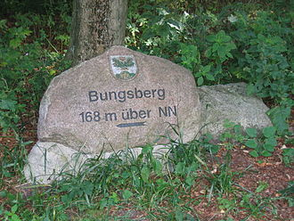 Schleswig-Holstein Uplands - Signpost to the Bungsberg