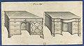 Bureau Tables, from Chippendale Drawings, Vol. II MET DP118218.jpg