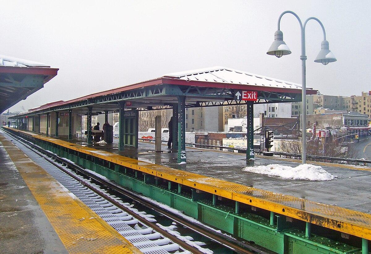 Burnside Avenue  Irt Jerome Avenue Line