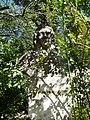 Bust de François Boissier de Sauvages de Lacroix al Jardí Botànic de Montpeller.JPG