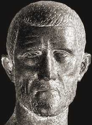 Carpi (people) - Bust of Roman emperor Aurelian (ruled 270-5), who began the policy of transferring large numbers of Carpi into the Roman empire