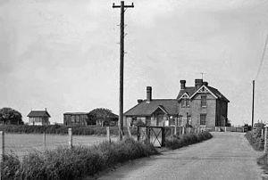 Buxton Lamas railway station - Image: Buxton Lammas railway station 1958045 36ef 36dd
