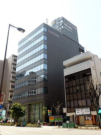 Capcom - Capcom's headquarters in Chūō-ku, Osaka
