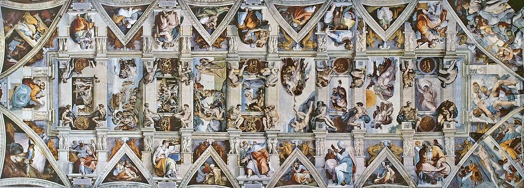 Resultado de imagen de boveda de la capilla sixtina