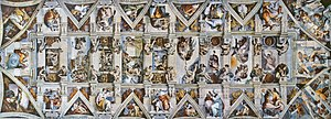 Gallery of Sistine Chapel ceiling - Image: CAPPELLA SISTINA Ceiling