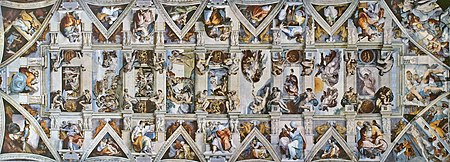 The Sistine Chapel Ceiling By Michelangelo An Artistic Vision Without Precedent