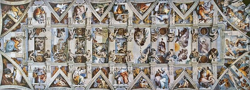 File:CAPPELLA SISTINA Ceiling.jpg