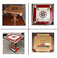 CARROM - PICHENOTTE GAME BOARD AND PLAYING PIECES.jpg