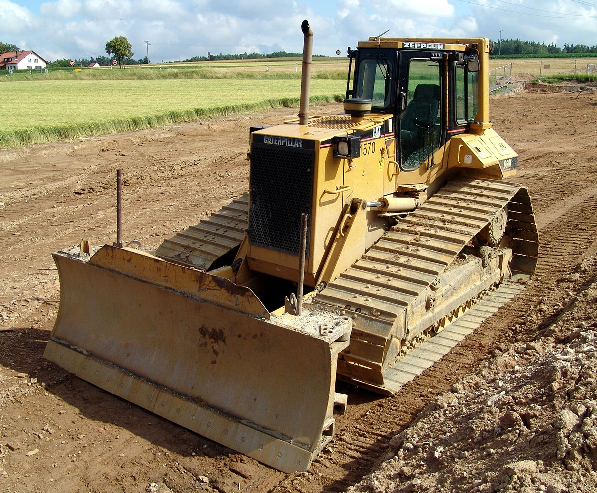 machine bulldozer