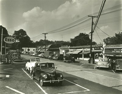 Downtown Briarcliff in 1952