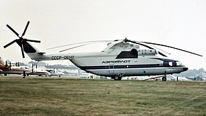 Mil Mi-26 - Aeroflot Mi-26 at the 1984 Farnborough Air Show