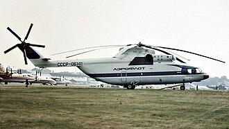 Mil Mi-26 - Aeroflot Mi-26 at the 1984 Farnborough Air Show