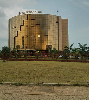 Malabo - CCEI Bank headquarters in Malabo