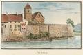 CH-NB - Aarberg, Pfarrhaus und Kirche - Collection Gugelmann - GS-GUGE-WEIBEL-D-1.tif
