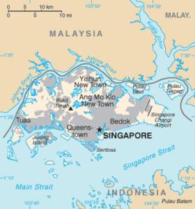 Géographie de Singapour — Wikipédia