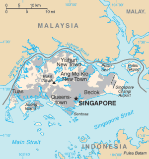 Nanyang (region) - Singapore - base for Chinese trade in Nanyang