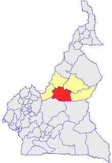 Djérem Department in Adamawa Province, Cameroon