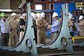 CNO visits Marinette Marine Corporation shipyard. (9371951986).jpg