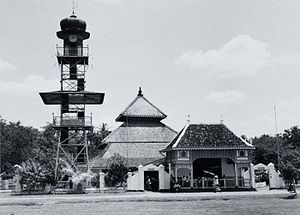 Demak Great Mosque - Image: COLLECTIE TROPENMUSEUM De moskee van Demak T Mnr 60054754