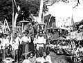 COLLECTIE TROPENMUSEUM Plechtigheden rond de lijkverbranding van Goesti Djilantik te Karangasem Bali TMnr 10003311.jpg