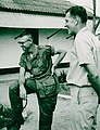 COL Robert B. Brewer (right) and MAJ (later LT COL) Hilton S. (Sandy) Sanderson, Quang Tri Vietnam 1968.jpg