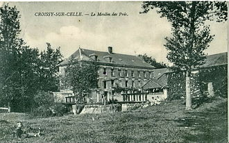 Selle - Image: CROISSY SUR CELLE Le Moulin des Prés