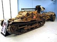 CV-33 Flamethrower 1 Bovington