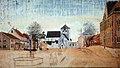 C M Tegner Munkegaden, Trondhjem sketch.jpg