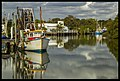 Cabbage Creek reflections-2 (14205650526).jpg