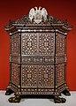 Cabinet, Lima, Peru, c. 1680-1700, mahogany, mother-of-pearl, ivory, tortoiseshell - Dallas Museum of Art - DSC04729.jpg