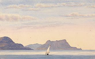 Battle of Cabrita Point - Cabrita Point in 1843