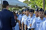 Cadets in line at Puerto Rico National Cemetery.jpg