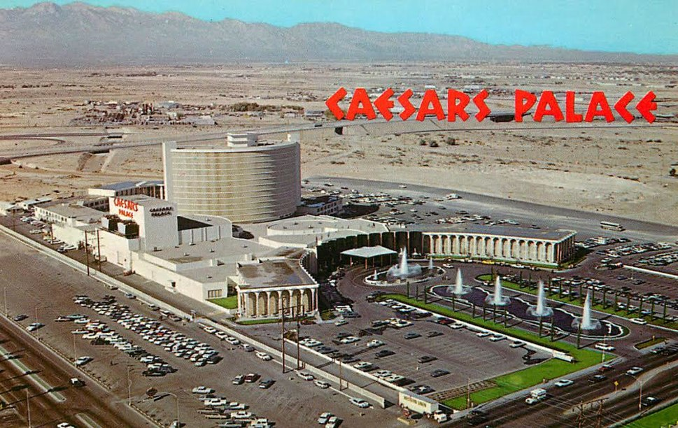 Caesars Palace in 1970