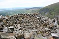 Cairn above Craig Cwmbychan - geograph.org.uk - 825809.jpg