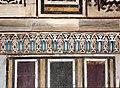 Cairo, moschea di al-muayyad, interno, intarsi con faience.JPG