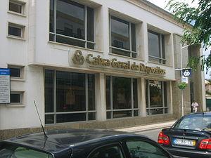 English: Bank Caixa Geral de Depósitos in Lour...