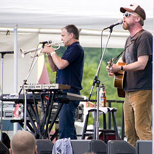 Cake (band) - Cake performing in 2010.