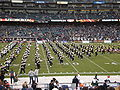 Cal Band performing pregame at 2008 Emerald Bowl 04.JPG