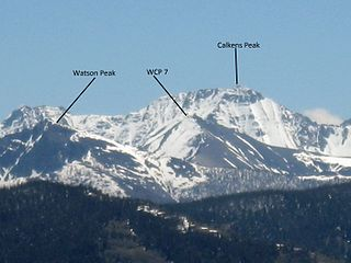 Calkins Peak mountain in United States of America
