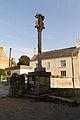 Calvaire de l'église Saint-Golven (Taupon, Morbihan, France).jpg