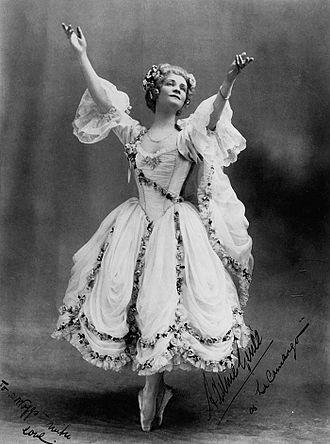 Adeline Genée - Genée in her original ballet, La Camargo