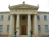 The Maitland Robinson Library at Downing College, designed by Quinlan Terry.
