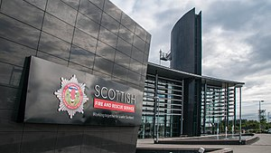 Scottish Fire and Rescue Service National Training Centre - The academic building