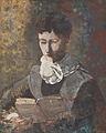 Camille Redon Reading by Odilon Redon (1840-1916).jpg
