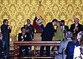 """Canciller Patiño acompaña a Presidente Correa durante condecoración con la """"Orden de San Lorenzo en Grado de Gran Collar"""" a Michelle Bachelet (4691791792).jpg"""