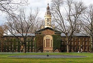 Nassau Hall United States historic place
