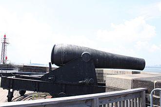 Castle Williams - Cannon on top of Castle Williams